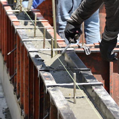 200430_今伊勢の家_基礎コンクリート打設