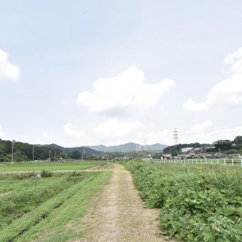 200805_春日井の敷地調査へ
