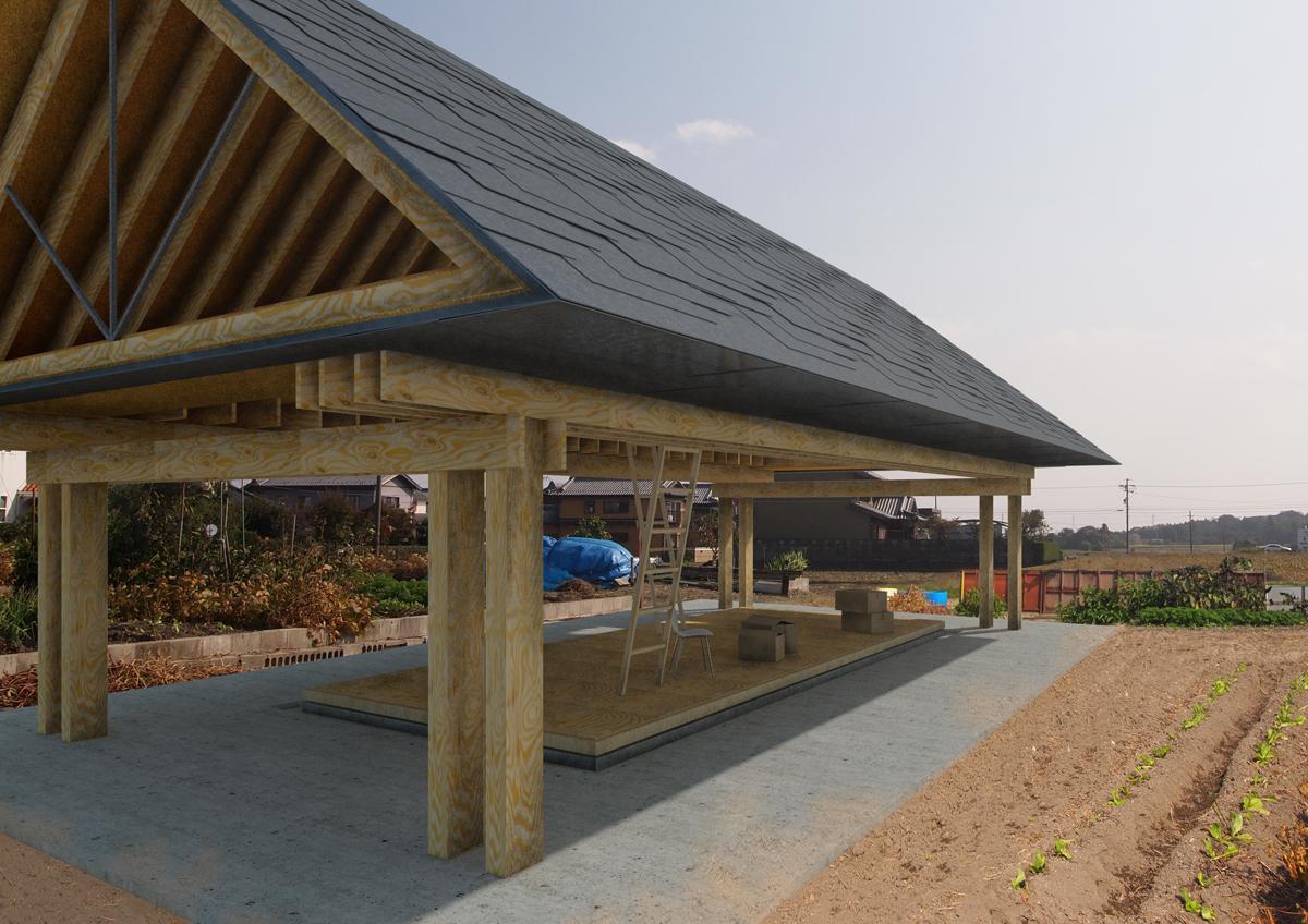 三重県三重郡での設計監理_川北の農小屋_03