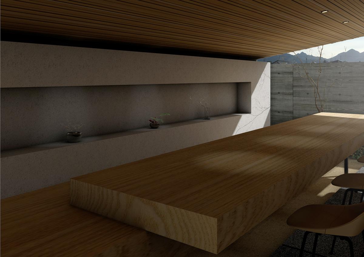 三重県四日市市での設計監理_菰野の茶室_02