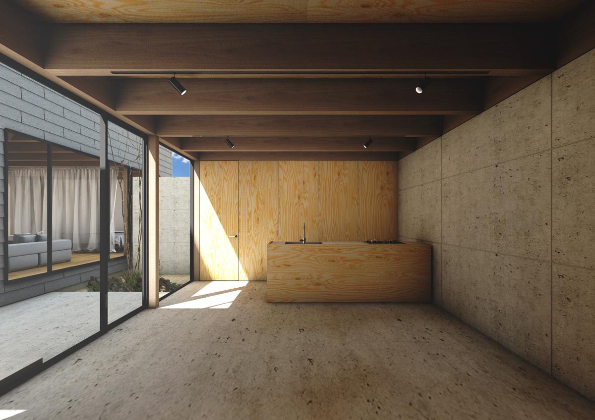 愛知県名古屋市での設計監理_則武の家02_05
